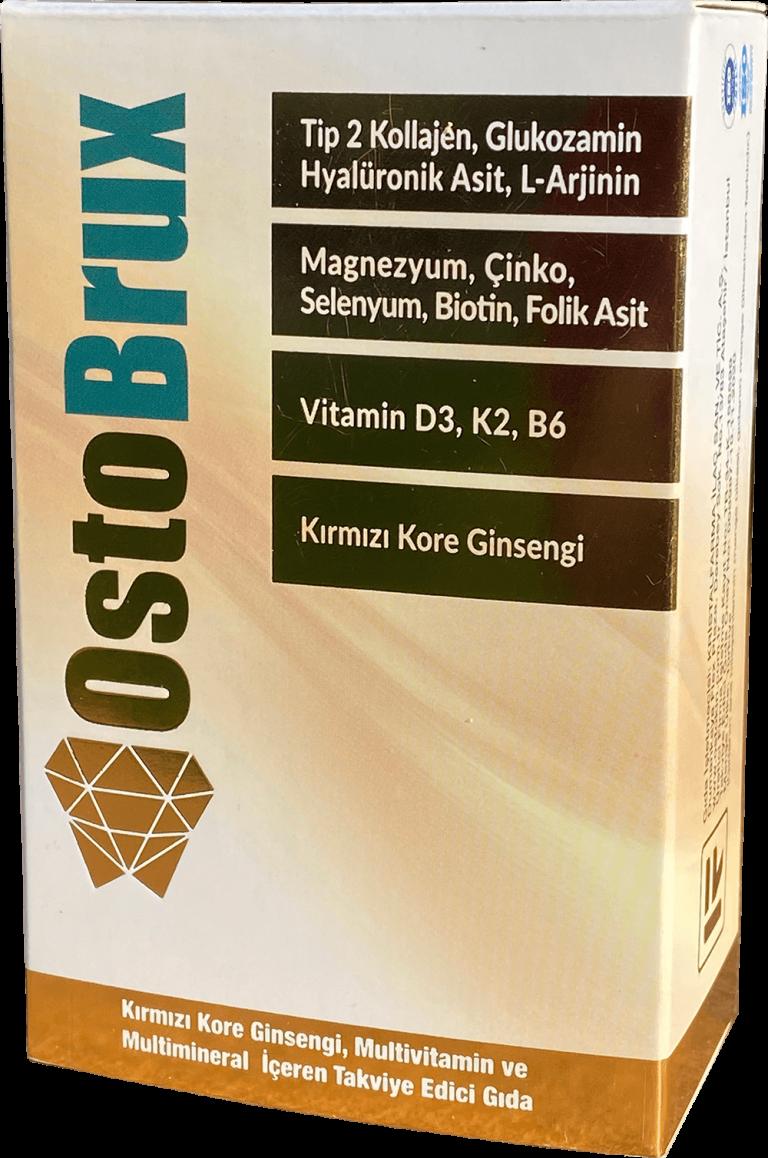 Ostobrux Kırmızı Kore Ginsengi Multivitamin ve Multimineral İçeren Takviye Edici Gıda